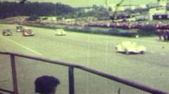 Old car race Stock Footage