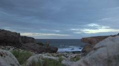 Aruba island in the caribbean - stock footage