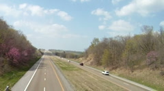 Timelapse of Interstate 55 Stock Footage