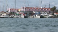 Stock Video Footage of Oranjestad Aruba island in the caribbean