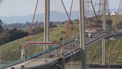 Carquinez Bridge 7176 Stock Footage