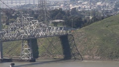 Carquinez Bridge 7134 Stock Footage