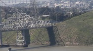 Stock Video Footage of Carquinez Bridge 7134