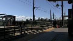 Train Station Transit Stock Footage