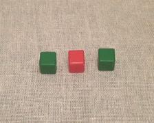 Three cube Stock Footage
