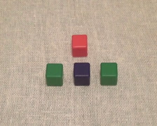Four cube 01 Stock Footage