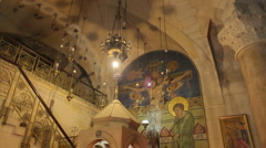 Church of the holy sepulchre P6 Stock Footage