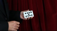 Poker Card Color Change Stock Footage