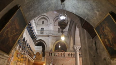 Church of the holy sepulchre P5 Stock Footage