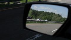 I-81 Virgina rear view1 Stock Footage