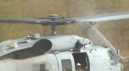 SH-60 Seahawk Navy Helicopter Take-Off 1 Stock Footage
