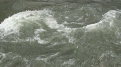 Swift moving current Stock Footage
