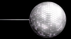 Disco Ball Mirrors Spin (HD) Stock Footage