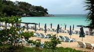 Phuket Island, Tropical Paradise, Beautiful Kata Beach in Amazing Thailand Stock Footage