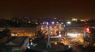KIEV Night 4 Stock Footage