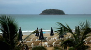 Kata Beach in Phuket Island, Tropical Paradise, Beautiful  Amazing Thailand Stock Footage