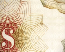 World Paper Currency Background Zoom Out PAL Stock Footage
