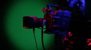 Broadcast HD Video Camera Stock Footage