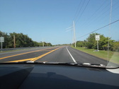 Driving in Florida. Highway. SD. Stock Footage