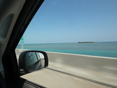 Stock Video Footage of Driving. Florida Keys. SD.