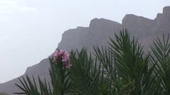 Mountains at Draa valley Stock Footage