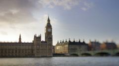 Big ben and parliament london UK 4k Stock Footage
