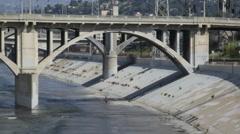 Los Angeles River 01 HD - stock footage