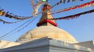 Boudhanath, Nepal Stock Footage