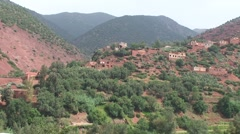 Ourika valley Stock Footage