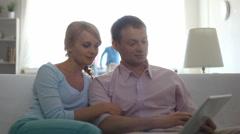 Happy family - stock footage