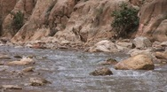 Todra Gorge, river Stock Footage