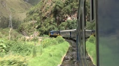 Train To Cuzco Stock Footage