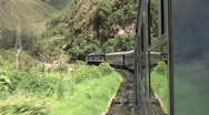 Stock Video Footage of Train To Cuzco