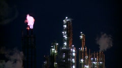Industry (Night) - stock footage