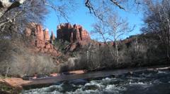 Sedona Arizona Travel Scenic Stock Footage