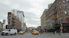 Meatpacking District Street in NYC Stock Footage