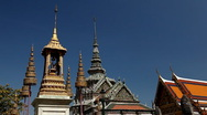 The Grand Palace in Bangkok, Thailand, Stock Footage