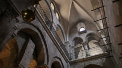 Church of the holy sepulchre P14 Stock Footage