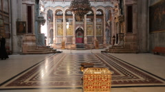 Church of the holy sepulchre P12 Stock Footage