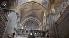 Church of the holy sepulchre P13 Stock Footage