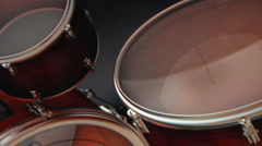 Virtual Drum Set (Floor Tom) Stock Footage
