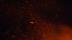 Fire in the Sky Stock Footage