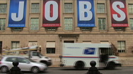 Chamber of Commerce headquarters Stock Footage