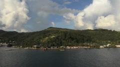 Stock Video Footage of View of the Raiatea shore