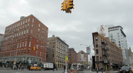 Stock Video Footage of Meatpacking District Corner in New York City