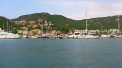Port Andratx, Majorca, Spain Stock Footage