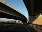 Stock Video Footage of Florida highway. Interchange. SD.