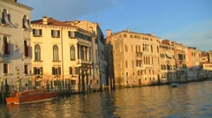 Canal Grande, Venice, Italy Stock Footage