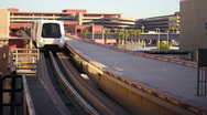 Airport Tram 2085 Stock Footage