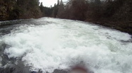 Stock Video Footage of River Rafting POV